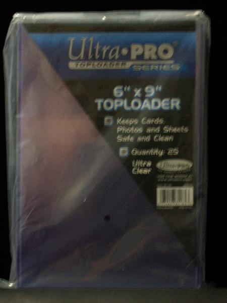 Ultra Pro 6 x 9 Top-Load Holders- 1 Pack of 25 Holders