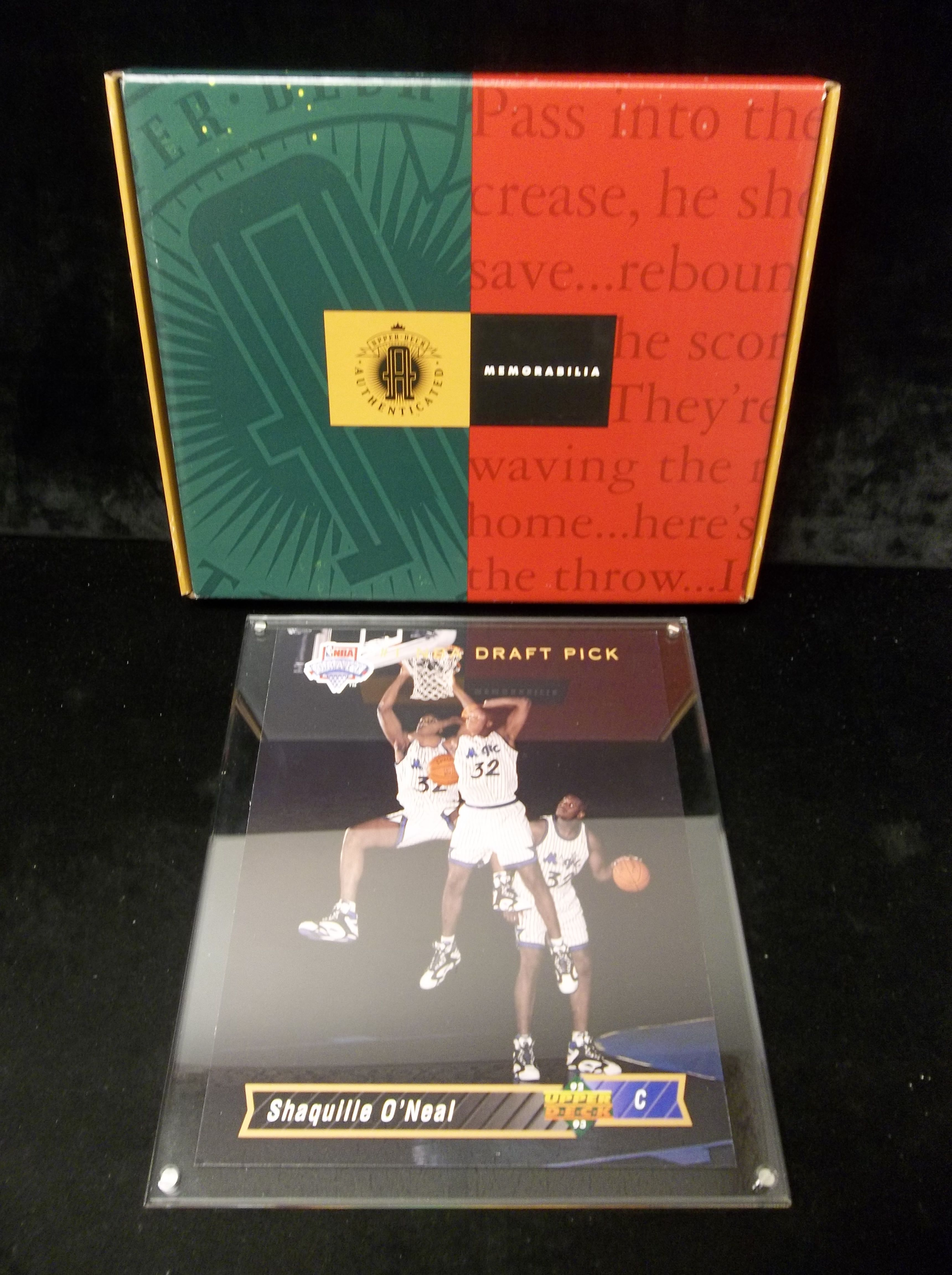 Lot Detail 1992 93 Upper Deck Authenticated Shaquille O