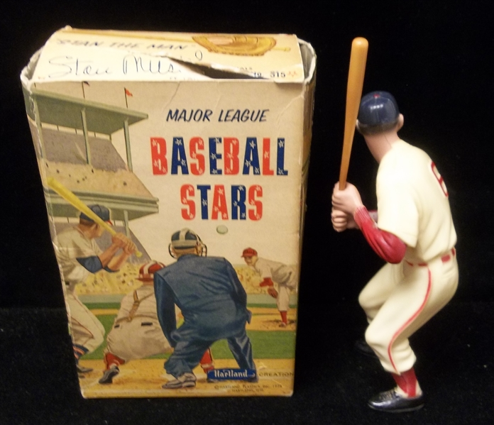 1958-63 Hartland Plastics Bsbl.- Stan Musial, Cardinals- With Original Box!
