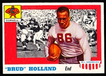 1955 Topps Fb All American- #39 Brud Holland