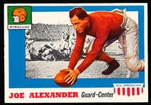 1955 Topps Fb All American- #41 Joe Alexander