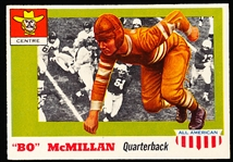 1955 Topps Fb All American- #47 Bo McMillan, Centre