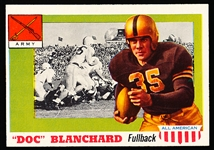 1955 Topps Fb All American- #59 Doc Blanchard, Army