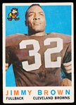 1959 Topps Fb- #10 Jimmy Brown, Browns