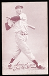 1939-46 Salutation Baseball Exhibit- Ted Williams, Sincerely Yours- No Number on Front