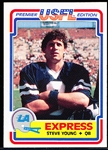 1984 Topps USFL Ftbl. #52 Steve Young XRC, Express