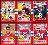 1985 Topps USFL Ftbl.- 1 Complete Set of 132 Cards with Original Factory Box