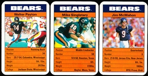 1987 Ace Fact Pack Chicago Bears Ftbl.- 1 Complete Set of 33 Cards