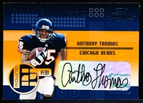 "2001 Playoff Contenders Ftbl. ""Round Numbers"" #RN8 A. Thomas/T. Henry"