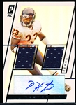 "2006 Topps Paradigm Ftbl. ""Autographed Relic"" #TPDR-DH Devin Hester RC, Bears- #25/299."