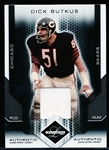 "2007 Leaf Limited Ftbl. ""Authentic Game Jersey"" #121 Dick Butkus, Bears- #60/100."