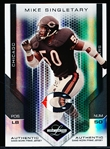 "2007 Leaf Limited Ftbl. ""Authentic Game Jersey Patch"" #168 Mike Singletary, Bears- #5/10!"