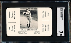 1936 S&S Game Card- Chas. Gehringer- SGC 7 (NM)
