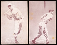 1939-46 Salutation Baseball Exhibits- 3 Diff
