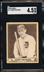 1940 Playball Baseball- #171 Harry Heilmann, Detroit- SGC 4.5 (Vg-Ex+)