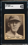 1940 Playball Bb- #174 Johnny Evers- SGC 4 (Vg-Ex)