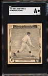 1948 Swell Sport Thrills- #4 Greatest Pitcher (Walter Johnson)- SGC A (Authentic)