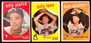 1959 Topps Bb- 20 Diff