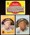 1959 Topps Bb- 22 Diff