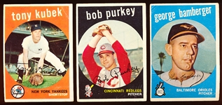 1959 Topps Bb- 28 Diff