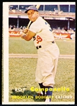 1957 Topps Baseball- #210 Roy Campanella, Dodgers