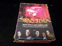 "1979 Topps ""Star Trek The Motion Picture""- One Unopened Wax Box"