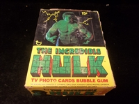 "1979 Topps ""The Incredible Hulk""- One Unopened Wax Box"