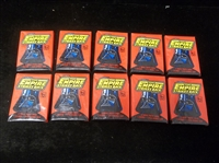"1980 Topps ""Empire Strikes Back""- 10 Unopened Wax Packs"