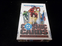 "1991 Impel ""DC Cosmic Cards"" Inaugural Edition- One Unopened Wax Box"