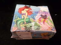 "1991 Pro Set ""The Little Mermaid""- 1 Unopened Wax Box"