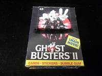 "1991 Topps ""Ghost Busters II""- One Unopened Closeout Wax Box"