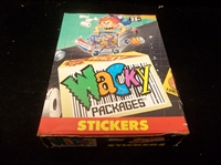 "1991 Topps ""Wacky Packages Stickers""- One Unopened Wax Box"