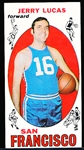 1969-70 Topps Basketball- #45 Jerry Lucas, San Francisco- Rookie!