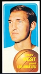 1970-71 Topps Basketball- #160 Jerry West, Lakers