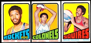 1972-73 Topps Bask- 49 Diff