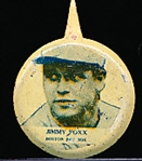 1938 Our National Game Baseball Pins- Jimmy Foxx- 3 pins