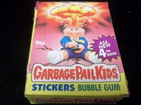 1986 Garbage Pail Kids Non-Sports- 1 Unopened Series 4 Box of 48 Packs- No Price on Wrapper Version
