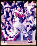 "Stan Musial Autographed Color 8 x 10"" Cardinals Photo"