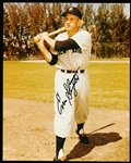 "Enos Slaughter Autographed N.Y. Yankees Color 8 x 10"" Photo"