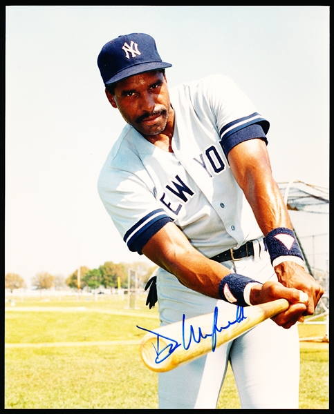 "Dave Winfield Autographed N.Y. Yankees Color 8 x 10"" Photo"