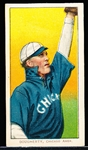 1909-11 T206 Bb- Dougherty, Chicago Amer- Arm in Air Version- Piedmont 460 back.