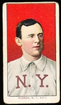 "1909-11 T206 Bb- McGraw, N.Y. Natl- Portrait No Cap-  Back has a ""bird stamp"" over 50% of Sweet Caporal 150"