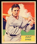 1934-36 Diamond Stars Bb- #42 Jimmy Dykes, White Sox