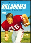 1969 University of Oklahoma College Ftbl. Media Guide