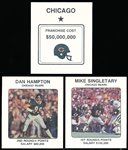 1989 NFL Franchise Ftbl.- 2 Complete Chicago Bears Sets of 12 Cards Each