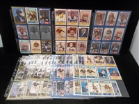 Clean-Up Lot of Mostly 1988-91 Swell/Enor Chicago Bears Pro Football Hall of Fame Cards- 175+!
