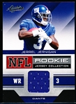 "2011 Absolute Memorabilia Ftbl.- ""Rookie Jersey Collection""- #17 Jerrel Jernigan, Giants"