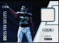 "2012 Panini Rookies & Stars Longevity Ftbl.- ""Dress for Success""- #22 Robert Turbin, Seahawks"