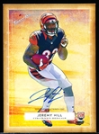 "2014 Topps Turkey Red Ftbl.- ""Rookie Autographs""- #33 Jeremy Hill, Bengals"