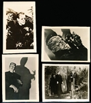 "1940's-50's Horror Movie Small (Approx. 1-15/16"" x 2-1/2"") B & W Cut-Down Proof? Pictures- 150 Diff."